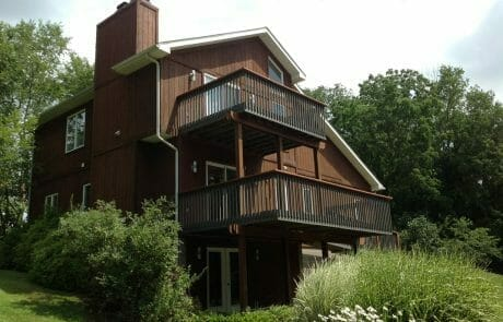 Local painters in Akron | Brown Exterior Painting