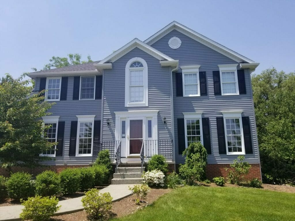 Grey House by painters in Akron